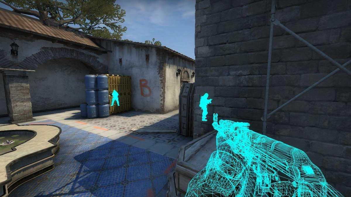 CS GO wall hack kodu