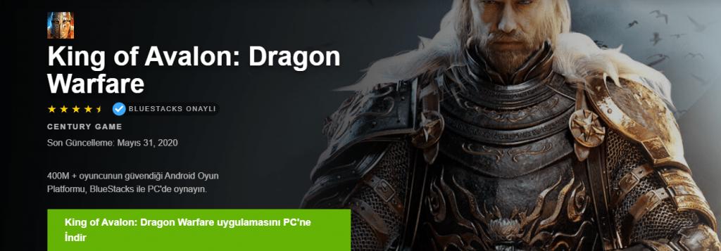 King Of Avalonc PC Emülatör