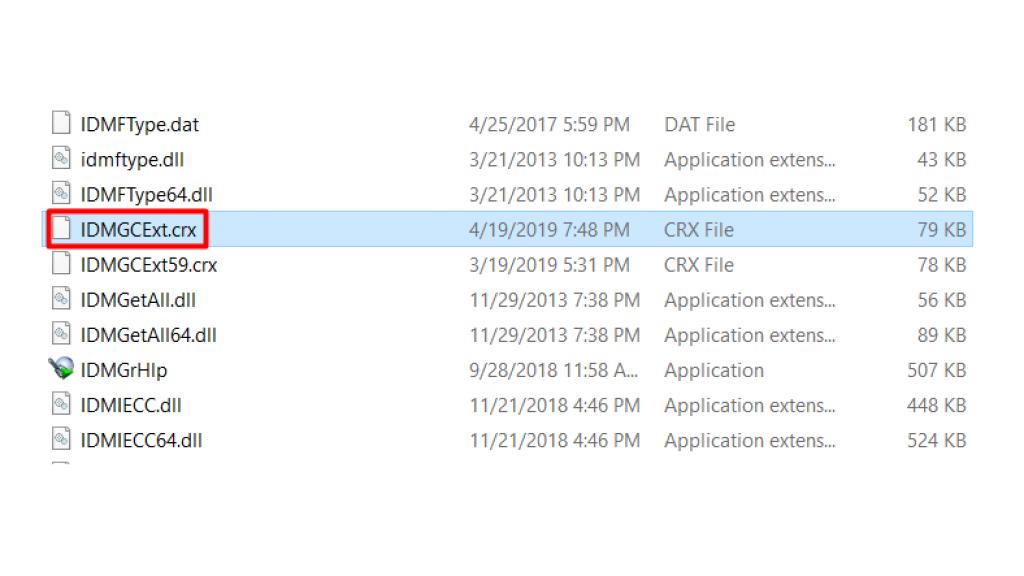 IDM Chrome Ekleme