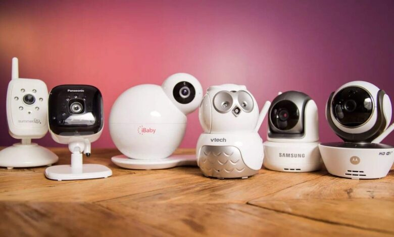 Bebek Bakıcı Kamera türleri