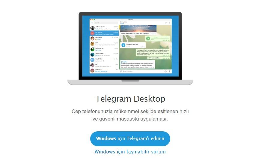 telegram web indir