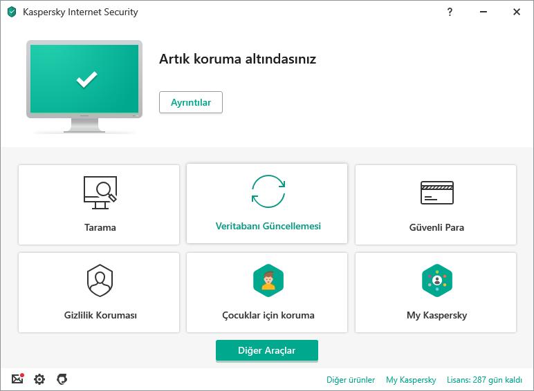 Kaspersky Total Security 2021 1 Aylık Lisanslı İndir