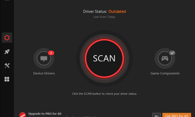 IObit Driver Booster 8.1 Pro lisans key