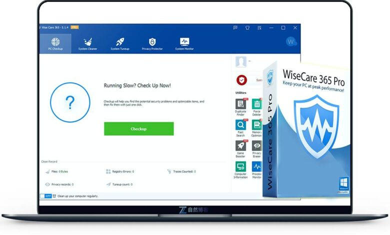 Wise Care 365 Pro Key Free License