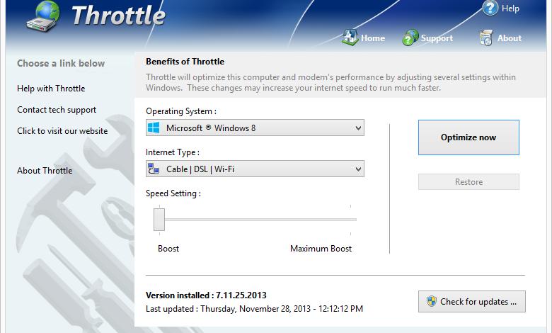Windows PGWARE Throttle 8 key