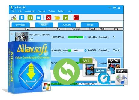 Mac için Allavsoft Downloader